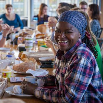 A simple soup lunch for CAFOD