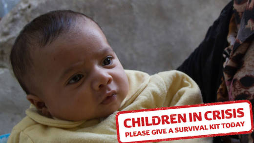 By donating to our appeal, you can help babies around the world