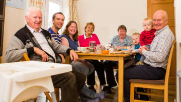 CAFOD supporters hold a soup supper for Fast Day.