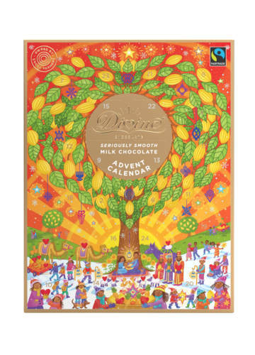 Divine Fairtrade Chocolate Advent Calendar