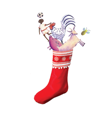 World Gifts stocking