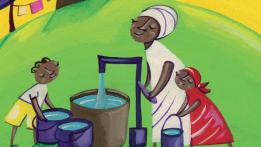 Longora has clean water in Uganda CAFOD