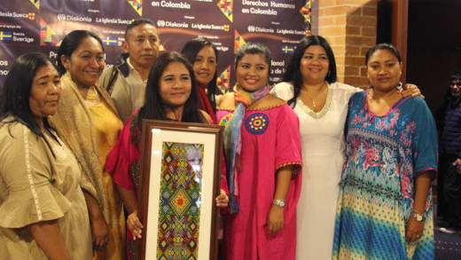 The women of Fuerza Mujeres Wayuu