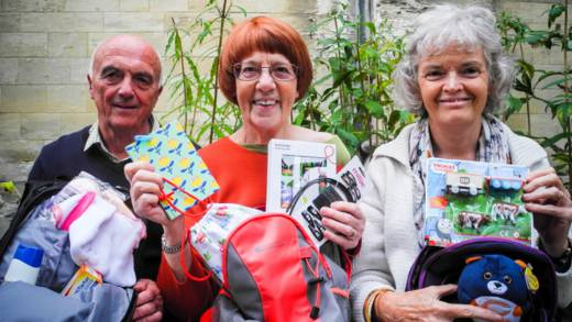 CAFOD livesimply group offers gifts for refugees