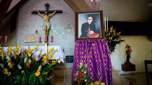 The church where Blessed Oscar Romero was martyred