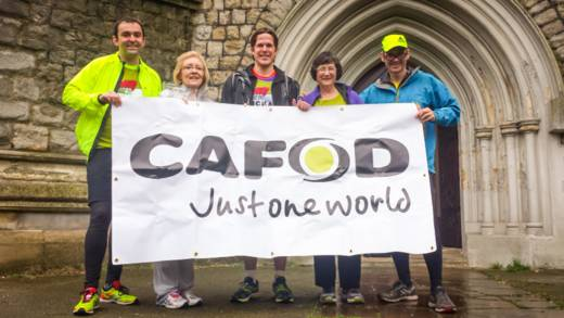 London marathon - CAFOD in Lent