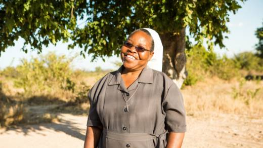 Sister Constancia in Zimbabwe CAFOD Lent