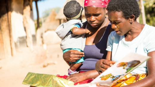 Lead mother in Zimbabwe CAFOD Lent