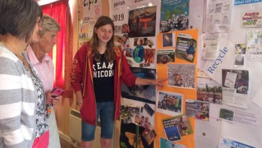 14-year-old Jodie inspires fellow parishioners to learn more about the impacts of climate change.