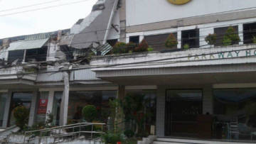 Philippines earthquake damage