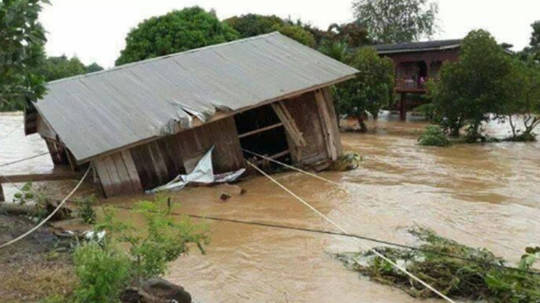 Catastrophic flooding from heavy rainfall has caused widespread devastation across Cambodia.