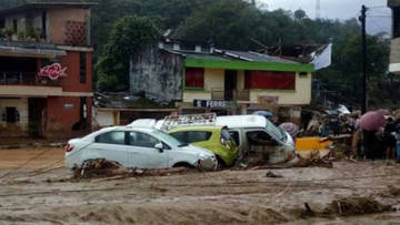 Torrents of mud, water and debris have left over 250 dead and hundreds more missing in the city of Mocoa in south-west Colombia.