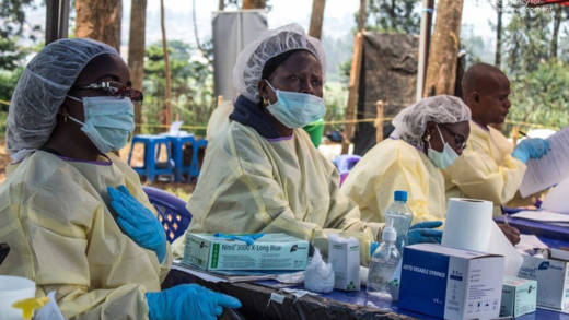 DR Congo: Preparing to give vaccinations at Butembo's Ebola Treatment Centre