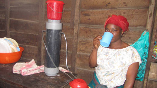 For communities with no access to clean water, a water filter is a life-saver.