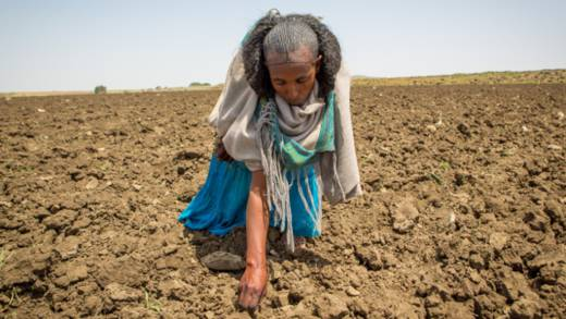 CAFOD is supporting people such as Herit who are affected by the drought in Ethiopia