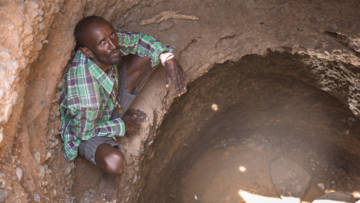 Climate change has led to droughts and water shortages for communities such as Bokayo Molu's