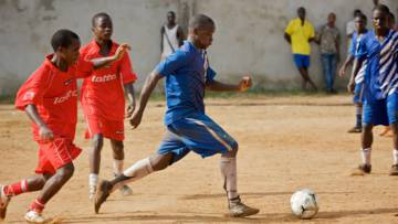 Footballers in Liberia