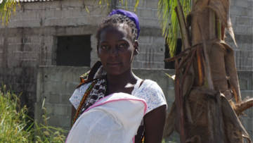 Sara is being supported by the local Church with life-saving aid