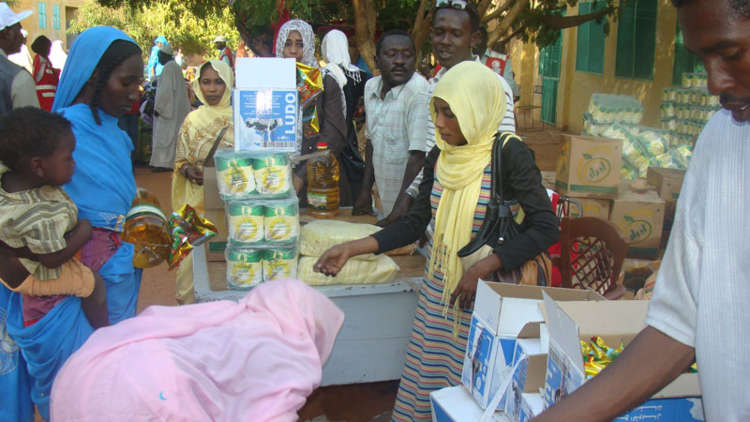Food aid has already reached people in need in North Kordofan