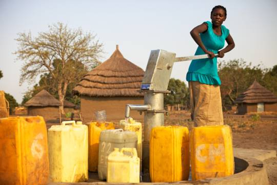Water pump in Sudan