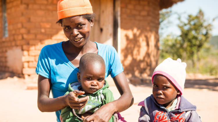CAFOD want to provide tools, seeds and training so the family can plant a vegetable garden