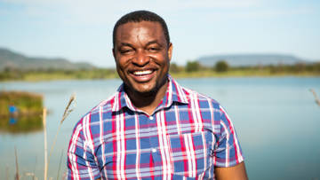 Livison Chipatiso, our project leader in Zimbabwe.