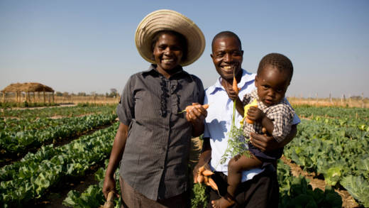 Marian and family from Zimbabwe