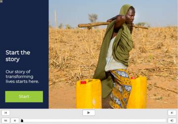 CAFOD Story e-learning