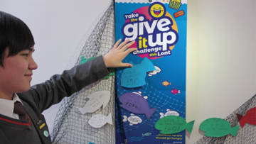 Take the Give ip Up challenge this Lent