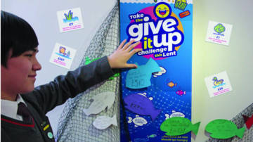 Take the Give it Up challenge this Lent