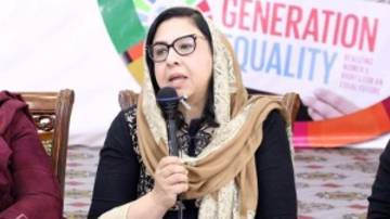 Palwasha Hassan is now director of the Afghan Women's Educational Centre