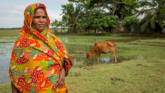 Mahinur lives in the Barishal region of Bangladesh, which is prone to extreme weather.