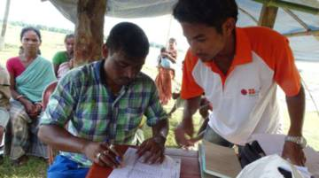 Caritas India respond to flooding in Bihar and Assam in India