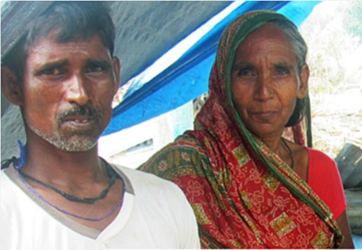 Janardhan and his wife lost their eight month old baby in the floods