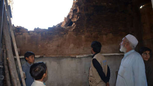 The October 2015 earthquake damaged tens of thousands of homes in Pakistan.