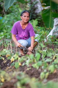 Cleofas Friego lives in Palo, an area which was badly affected by Typhoon Haiyan