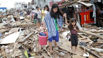 Typhoon Haiyan tore apart the lives of 14 million people in the Philippines