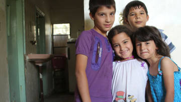 Refugee children in Jordan