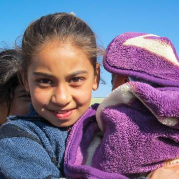 Child refugees, CAFOD emergency response in Lebanon