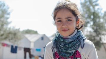 Soulai, a refugee from Syria