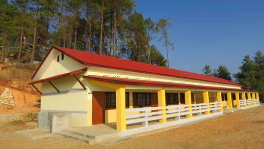 Palchok Lower Secondary School is a new earthquake-resilient school.