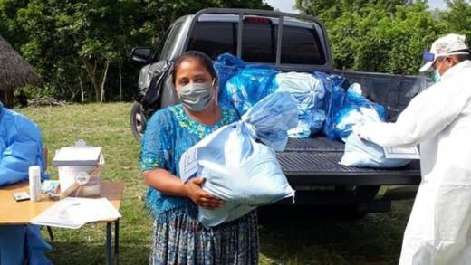 We are providing food and hygiene kits to vulnerable indigenous Mayan families with a special focus on women, the elderly and children.