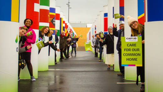 COP 21 delegation in Paris
