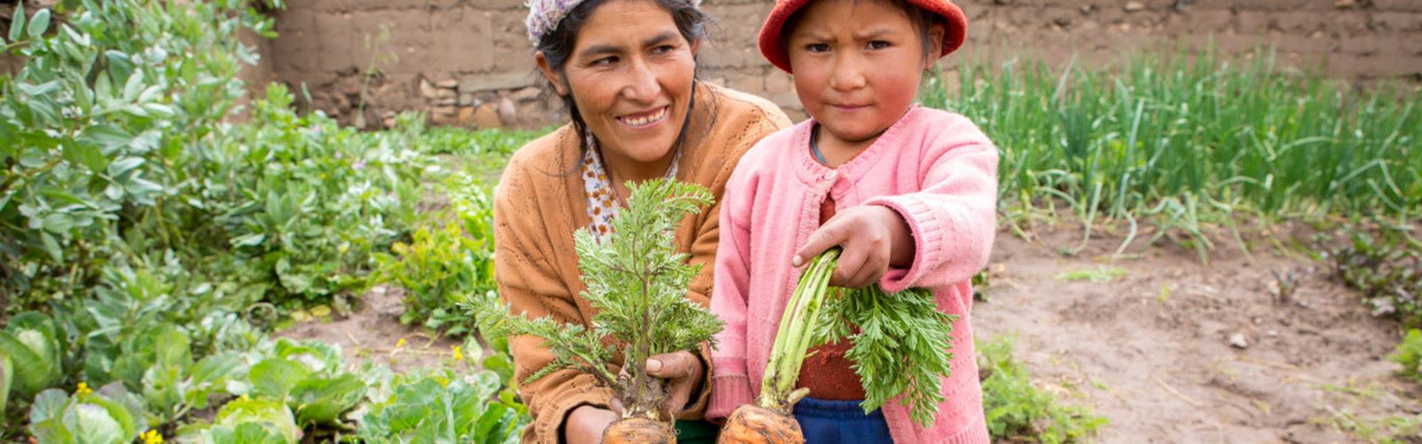 A mother and child in Bolivia