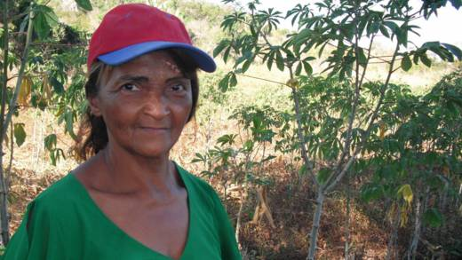 Maria do Carmo Lacerda is a farmer from Brazil who has been supported by our partner CPT