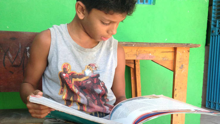 CAFOD-funded reading programme in Brazil