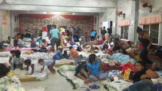 Caritas Puerto Plata in the Dominican Republic helped vulnerable people reach shelters in churches and schools in preparation of Hurricane Irma, which has caused extensive damage in the Caribbean.