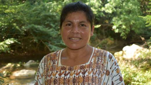 Olivia is standing up for her community's right to return to their ancestral land in Guatemala