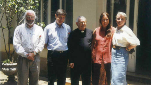 CAFOD worked closely with Cardinal Arns and the social outreach programmes of his Archdiocese throughout the dictatorship in Brazil. In 1995, then CAFOD Chair Bishop John Crowley and Board member Mike Scally visited Cardinal Arns.