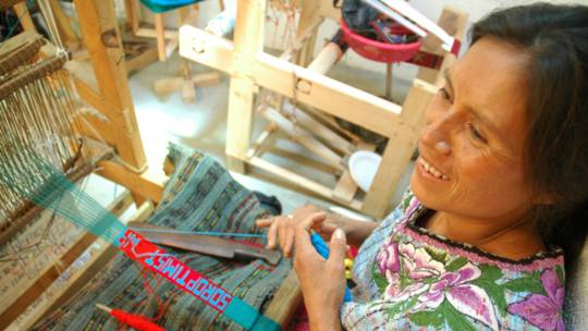 Candelaria weaving